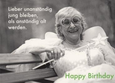 Happy Birthday Karte Für Frauen.Geschenke Herzlichen Glückwunsch Loriot Postkarte Seite 2
