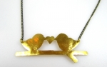 Lovebird - Kette aus Indien, Fair Trade